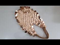 Sequin mesh bag making, part 2 / fazer saco de lantejoulas - Crochet Clutch En Crochet, Crochet Pouch, Bead Crochet, Crochet Accessories, Bag Accessories, Pop Tab Purse, Diy Circle Skirt, Crochet Poncho Patterns, Diy Handbag
