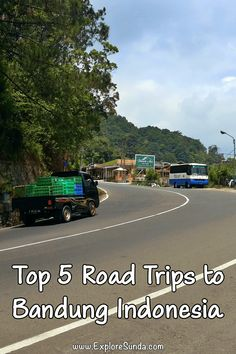 The Best Five Road Trips to Bandung Indonesia | Are you planning a trip to Bandung Indonesia? Consider driving/renting a car and go for a road trip to explore many interesting places on your way to Bandung | #ExploreSunda #RoadTrip #BandungIndonesia Classic Restaurant, Art Deco Buildings, Top Destinations, Renting, Road Trips, Travel Guide, Things To Do, Explore, Places