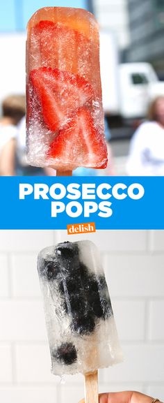 These Prosecco Pops are going to be your summer obsession. Get the recipe at Delish.com.