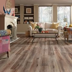 Fairhaven Brushed by Mannington Laminate Flooring