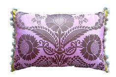 Designers Guild Pink Damask pattern Lumbar Pillow