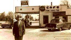 Fern's Cafe in Towanda, Illinois on Route 66