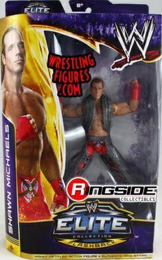 """Shawn Michaels - WWE Elite """"WrestleMania 30"""" (Variant - NO hair on stomach)   Ringside Collectibles"""