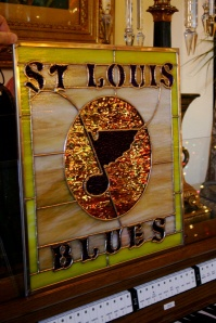 St. Louis Blues Stained Glass Window