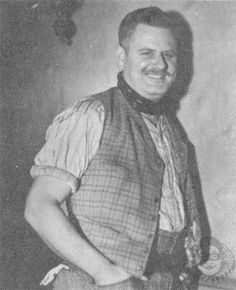 Alan Hale, Sr. was in my mind for Connell Morgan.