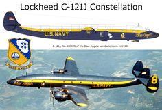 """Lockheed C-121J """"Blue Angels"""""""