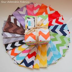5 easy chevron sewing projects including tutorials.