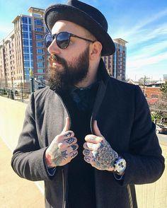 #mensstyle #mensfashion #mensstreetstyle #streetstyle #streetfashion #fashion #style #outfit #tattoos #beard