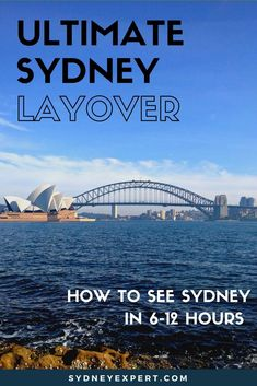 If your flight includes a short layover in Sydney this guide will give you itineraries for what you can see in 6 hours, 8 hours or 12 hours in the city.