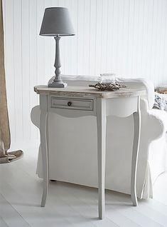 Bridgeport grey living room furniture. Shabby Chic furniture for your living room from The White Lighthouse