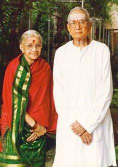 M.S.Subbulakshmi with Husband Sadasivam