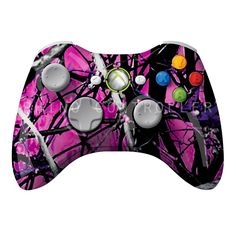 XBOX 360 controller Wireless Glossy Custom Painted- Without Mods Xbox 360 Controller, Camouflage, Military Camouflage, Camo, Military Style