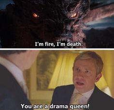 Sherlock/Hobbit crossover