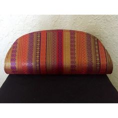 Colorful clutch Colorful clutch that goes well with everything! Only used once Bags Clutches & Wristlets