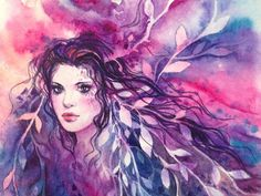 2 Watercolor  Painting_by_adelenta