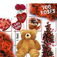 700_Roses Romantic Gifts