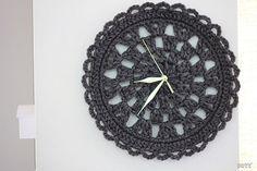 Ooty: Crochet Clock New Pattern