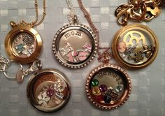 Lockets, Lockets and more Lockets