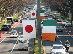 INJ organizes St. Patrick's Parade and other cultural events, bringing a little part of Ireland to Japan - Tokyo St. Patrick's Parade.