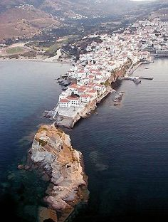 Such a beautiful picture of Andros - Greece Beautiful Islands, Beautiful Places, Places To Travel, Places To See, Andros Greece, Places In Greece, Greece Islands, Greece Travel, Photos