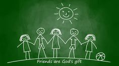 Famous Quotes At..       WWW.BRAINQUOTES.Tk: Friends Are God's Gift