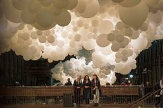 """Charles Petillion, artist The installation, titled, """"Heartbeat"""", is featured inside London's Covent Garden and stretches the length of its entire South Hall."""