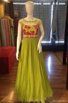 Gtv Party Wear Dresses, Dress Outfits, Fashion Dresses, Simple Elegant Dresses, Beautiful Dresses, Kurta Designs, Blouse Designs, Anarkali Dress, Anarkali Suits