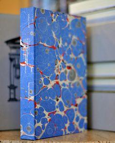 iiiinspired: marble vintage book cover