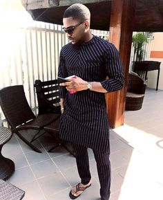If you're on a search for Nigerian Ankara styles for men that will turn you into a best-dressed man anywhere you go,you are on the site,Cos we have the latest and most elegant Ankara styles for men that will give you that great look you desire. African Shirts For Men, African Dresses Men, African Attire For Men, African Clothing For Men, African Wear, African Outfits, Nigerian Men Fashion, Indian Men Fashion, Mens Fashion Wear