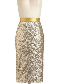 Sequin and Shine Skirt, #ModCloth
