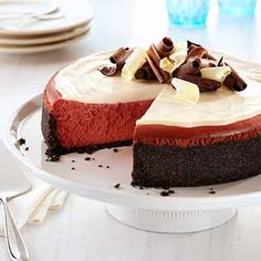 Try this updated version of a traditional cheesecake recipe.