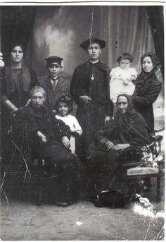 Familia Mediavilla en el año 1920