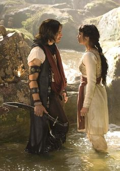 Prince of Persia: The Sands of Time. Dastan and Tamina.