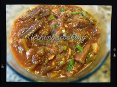 Chinese Aubergine/Chinese EggPlant With ChiilyBeanPaste