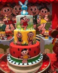 Bolo Laura, Baby Mickey, Cake Pops, Cupcake Cakes, Cupcakes, Party Time, Create Yourself, Birthday Cake, Tasty