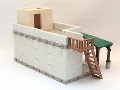 Casas para el Belén con SystemX Paper Crafts, Dollhouses, Adobe, Table, Diy, Furniture, Home Decor, World, Arched Doors