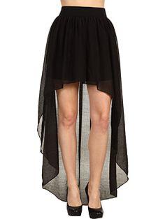 BCBGeneration - High-Low Maxi Skirt