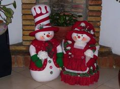 Ideas que mejoran tu vida Christmas Sewing, Christmas Fabric, Christmas Snowman, Christmas Stockings, Christmas Holidays, Felt Christmas Decorations, Christmas Wreaths, Christmas Ornaments, Holiday Decor