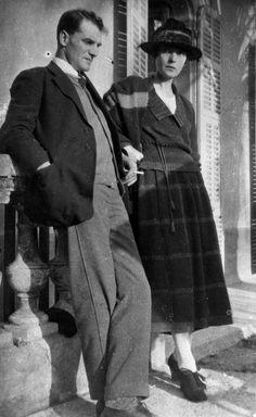 Katherine Mansfield and John Middleton Murry, 1921