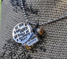 Faith as small as a Mustard Seed - Necklace