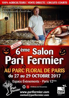 6ème salon Pari Fermier au Parc Floral de Paris (12ème)