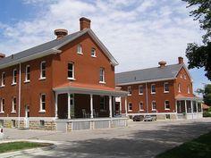 fort omaha   Fort Omaha, NE Barracks back