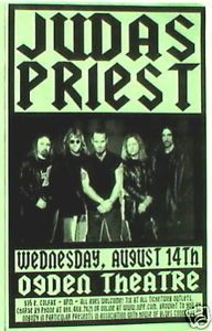judas priest concert posters | Judas Priest 2002 Denver Concert Tour Poster Metal Rock | eBay