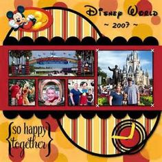 Free Disney Scrapbook Layouts - Bing Images