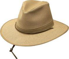 9611b66f87f7f Henschel - Khaki Packable Breezer Safari Hat Mens Summer Hats