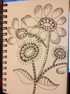 Zentangle Flowers!!