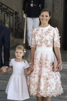 Princess Estelle at Princess Victoria 40th birthday