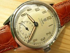 Rolex Tudor Oyster steel. Very early. 1946 | Vintage Watches