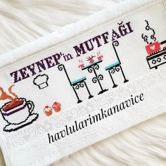 Small Cross Stitch, Cross Stitch Embroidery, Projects To Try, Bullet Journal, Instagram, Videos, Dish Towels, Punto Croce, Crossstitch