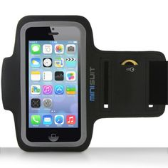 Minisuit SPORTY Armband + Key Holder for iPhone iPod Touch 5 (Black) Introducing the SPORTY from MiniSuit. Exercise your right to a MiniSuit case that Iphone 5c, Apple Iphone 5, Best Iphone, Coque Iphone, Apple Smartphone, Free Iphone, Ipod Touch 6th, Amazon Fire Phone, Fitness Gadgets